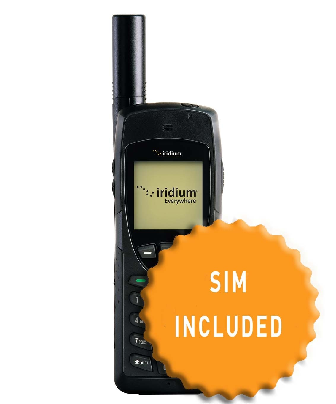 Iridium 9555 and SIM