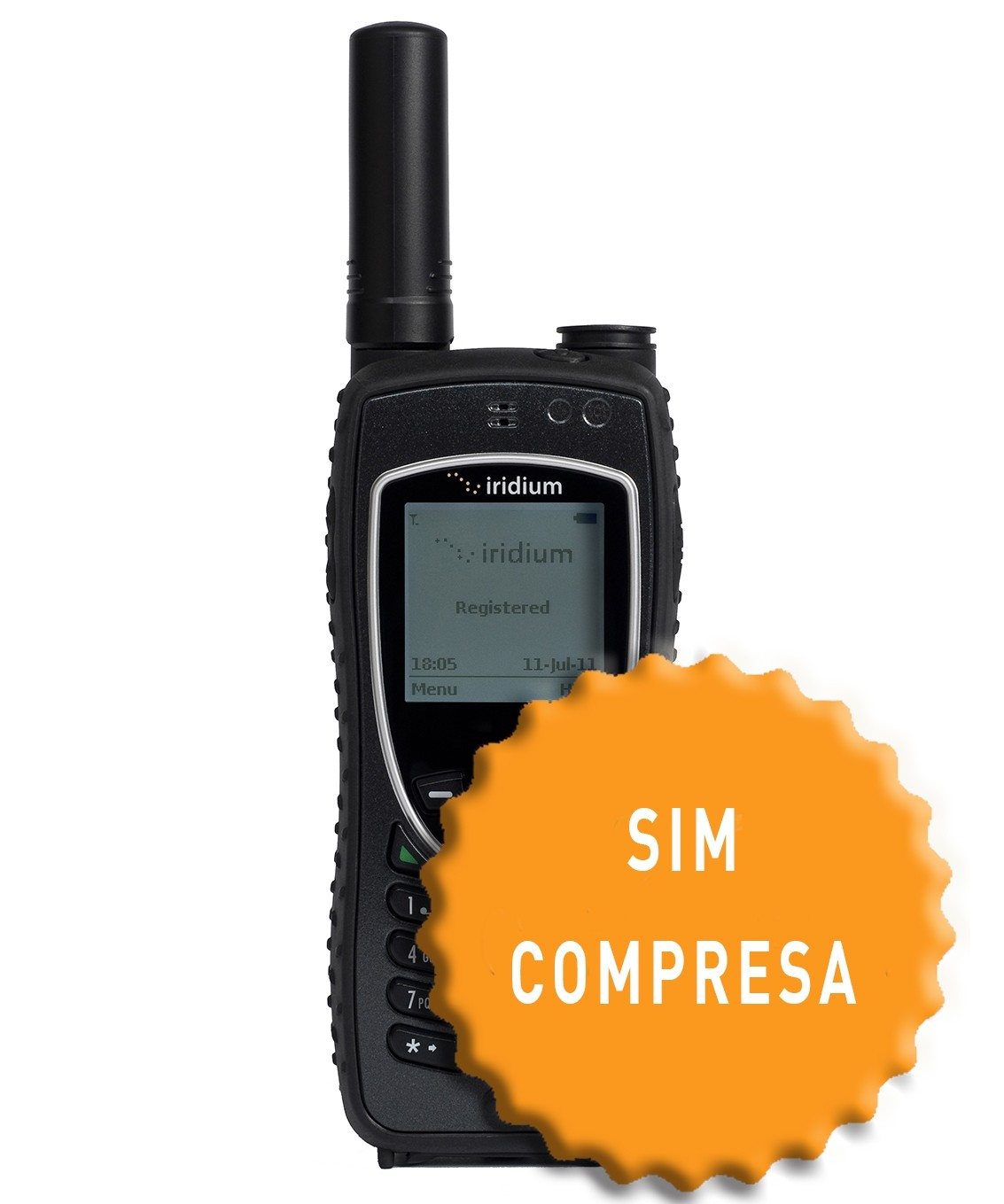 Iridium 9575 Extreme con SIM