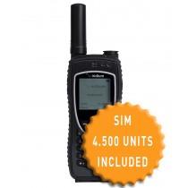 Iridium 9575 Extreme and SIM with 4.500 Units