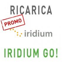 Ricarica 1000GO IRIDIUM GO! 30.000 unità validità 365 giorni