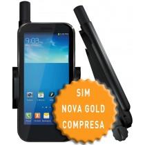SatSleeve iPhone 6 compresa SIM NOVA PLUS