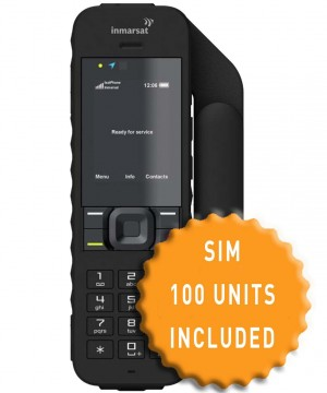 IsatPhone 2 and SIM with 100 Units