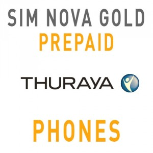 Sim Card Thuraya Nova GOLD with 130 Units - Prepaid