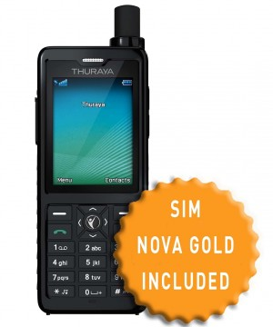 Thuraya XT-PRO and SIM with 130 Units