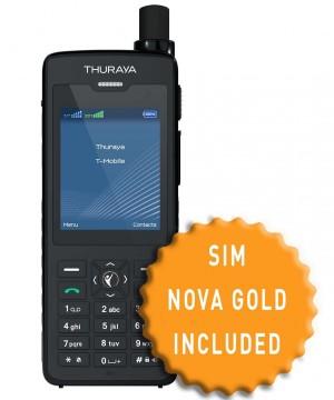 Thuraya XT-PRO DUAL and SIM with 130 Units
