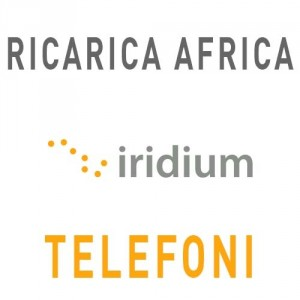 Ricarica Iridium SIM AFRICA 7.200 unità validità 365 giorni