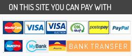 Su questo sito puoi pagare con